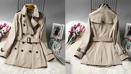Burberry - SHORT TRENCH COAT çamaşırlar